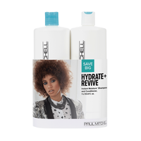 Instant Moisture Shampoo, Conditioner Liter Duo