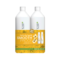 Biolage SmoothProof Shampoo, Conditioner Liter Duo