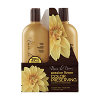Passion Flower Shampoo, Conditioner Liter Duo