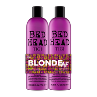 Bed Head Dumb Blonde Shampoo, Reconstructor Duo