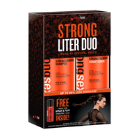 Strong Sexy Hair Liter Duo with Free Mini Spray & Play