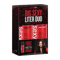 Big Sexy Hair Volumizing Shampoo, Conditioner, Spray & Play