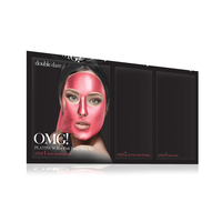 OMG! Platinum Hot Pink Face Mask
