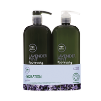 Tea Tree Lavender Mint Shampoo, Conditioner Liter Duo
