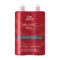 Brilliance Shampoo, Conditioner for Fine Hair Liter Duo