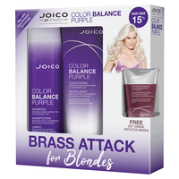 Color Balance Purple Shampoo, Conditioner, Defy Damage Mask
