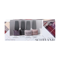 Scottland Nail Lacquer Mini - 4 Piece Kit