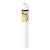 Poly Backed White Table Paper Roll, 21'' x 125'