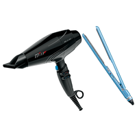 BaBylissPRO Ferrari Rapido Dryer, NT Ultra Thin Flat Iron