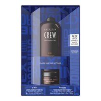 Fathers Day Duo, Classic Pomade, 3-in-1 Moisturizing Shampoo