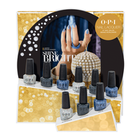 Shine Bright Lacquer Glitter - 9 Piece Display