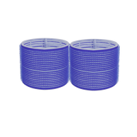 Spilo Self-Grip Rollers - 3 1/8 Inch Blue 2–Count