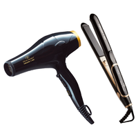 Ceramic+Ion Hair Dryer, Flat Iron