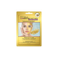 Lux Facial Sheet Mask - Gold