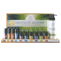 Essential Oil Solutions Display