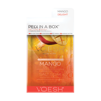 Deluxe 4-Step Pedi In A Box Mango Delight