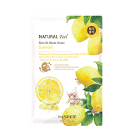 Natural Feel Sheet Mask - Lemon