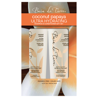 Coconut Papaya Shampoo, Conditioner Holiday Duo
