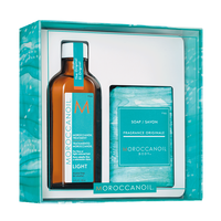 Moroccanoil Oil Treatment, Cleansing Bar Duo