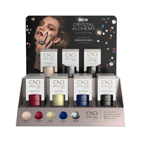 Vinylux Crystal Alchemy - 12 Piece Display