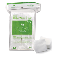 Petite Cotton Wipes 2 Inch x 2 Inch - 200 Count