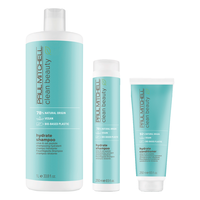 Clean Beauty Hydrate Shampoo, Conditioner