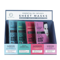 BCL Spa - Sheet Mask - 24 Count Display