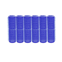 Spilo Self-Grip Rollers - 5/8 Inch Blue 6–Count