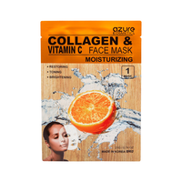 Azure Vitamine C & Collagen Face Mask