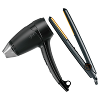 Classic Ceramic Styler 1 Inch, Core Flight Travel Dryer