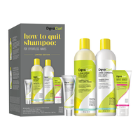 How To Quit Shampoo Kit - For Wavy Hair