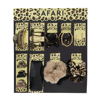 Safari Assorted Hair Accessories 43 Piece Display