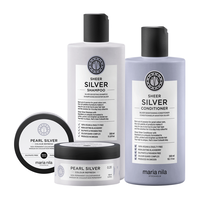 Sheer Silver Shampoo, Conditioner, Refresh Pearl Silver