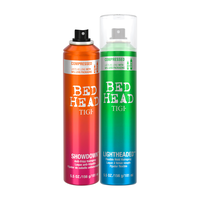 Bed Head Lighthead,  Showdown Hairsprays