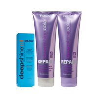 Deepshine Color Repair Shampoo, Conditioner, Oil Treatment