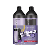 Total Results So Silver Shampoo, Conditioner Liter Duo
