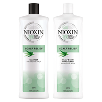 Buy 2 Nioxin Scalp Relief Kits Get Cleanser,Conditioner Free