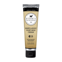 Dionis Vanilla Bean Goat Milk Hand and Body Cream