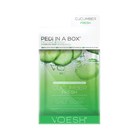 Deluxe 4-Step Pedi In A Box Cucumber Fresh