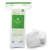 Large Cotton Wipes 4 Inch x 4 Inch - 200 Count