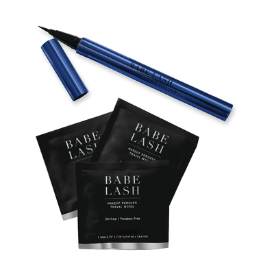 Limited Edition Enhancing Liquid Eyeliner with 3 Wipes
