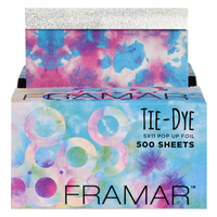 Tie Dye Pop-Up Foil - 500 Sheets