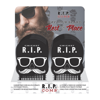 R.I.P Beard Comb - 12 Piece Display