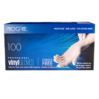 ProCare Vinyl Powder-Free Gloves - Extra Large