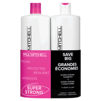 Super Strong Shampoo, Conditioner Liter Duo