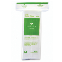 Large Cotton Wipes 4x4 - 200 Count