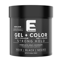 Hair Styling Gel plus Color - Black