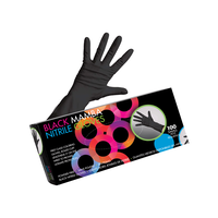 Black Mamba Nitrile Gloves - Small 100 Count