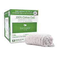 Expand-A-Coil Cotton Coil - Non-Reinforced, 3 lbs.