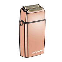 BaBylissPRO Rose Gold Double Foil Shaver